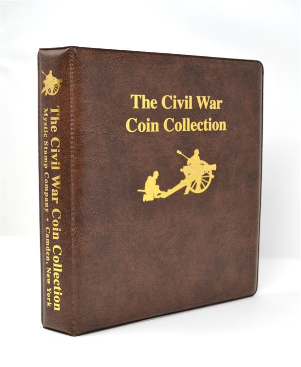 Mystics Civil War Coin Collection Binder