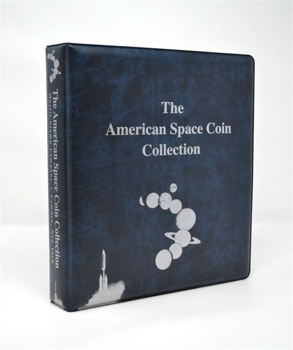 Mystic's American Space Coin Collection Binder