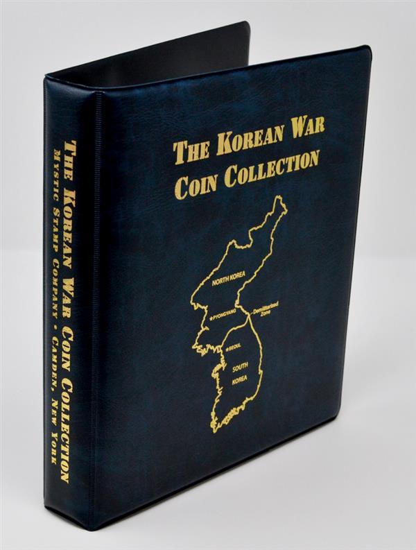 Korean War Coin Collection Binder
