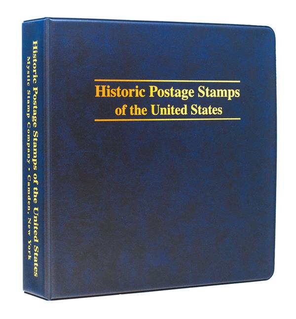 Mystics Historic Stamps of the United States Binder, 3-Ring, 11 x 11 1/2