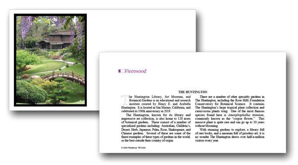 2020 The Huntington Botanical Gardens
