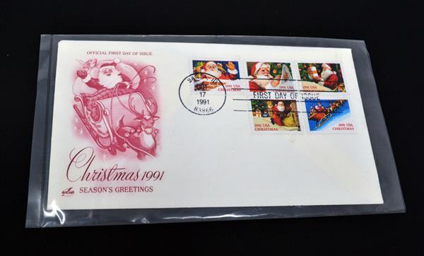"""Poly Storage Sleeves for First Day Covers, 4"""" x 7"""" Package of 100"""