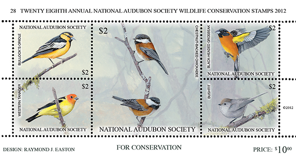 2012 Audubon Conservation Sheet