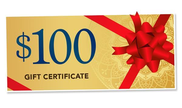 $100 Mystic Gift Certificate