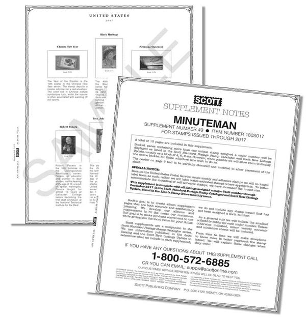 2017 Scott US Minuteman Supplement