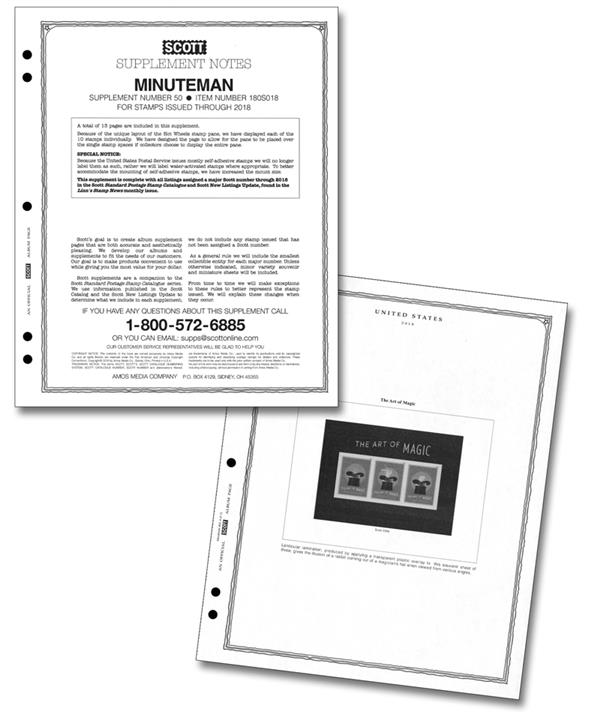 2018 Scott US Minuteman Supplement