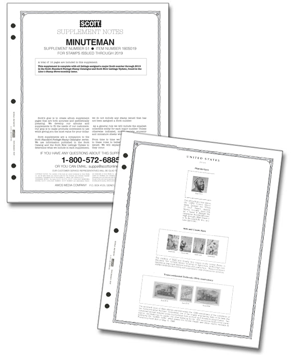 2019 Scott US Minuteman Supplement