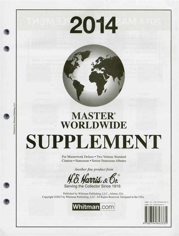 2014 HE Harris Master Worldwide Supplement