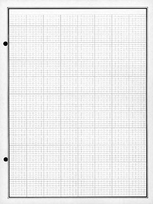 Mystic Quick Mount Pages, Package of 75 2-Post Black 2-Sided Grid Style