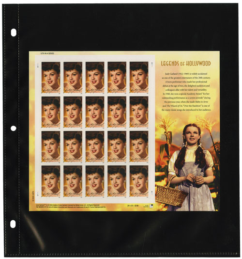 Supersafe Mint Sheet Album Refill Pages, Pkg. 12
