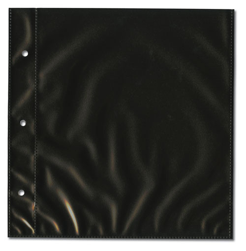 1-Pocket Page, Black, Package of 25