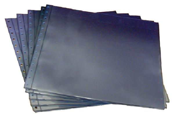 SAFE Mint Sheet Pages, Black, Package of 10