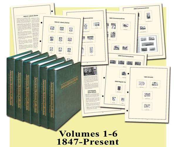 Mystic American Heirloom Albums Vol 1-6 - 1847-present