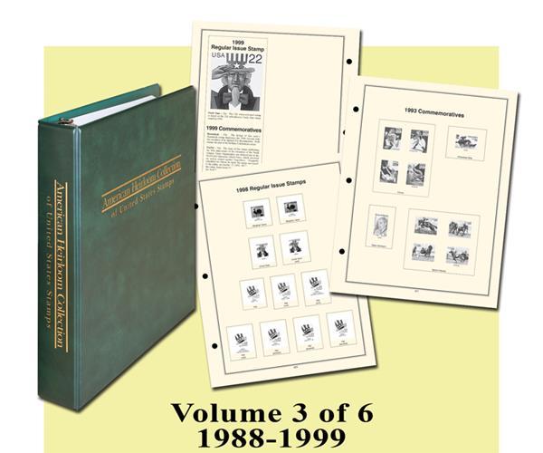 1988-99 Volume III, American Heirloom Album
