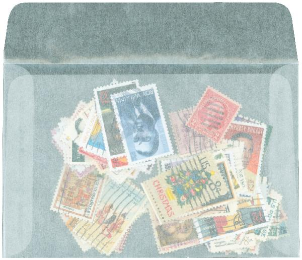 #7 Glassine Envelopes