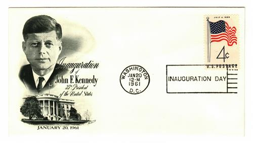 1961 Inauguration Cover - President John F. Kennedy