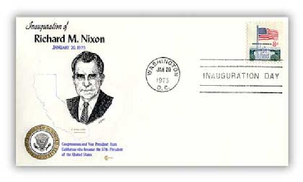 1973 Inauguration Cover - President Richard M. Nixon