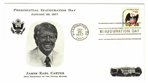 1977 Inauguration Cover - President James Carter