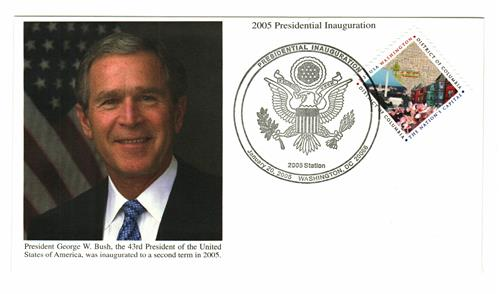 2005 Inauguration Cover - President George W.Bush