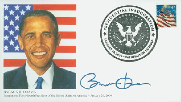 2009 Inauguration Cover - President Barack Obama
