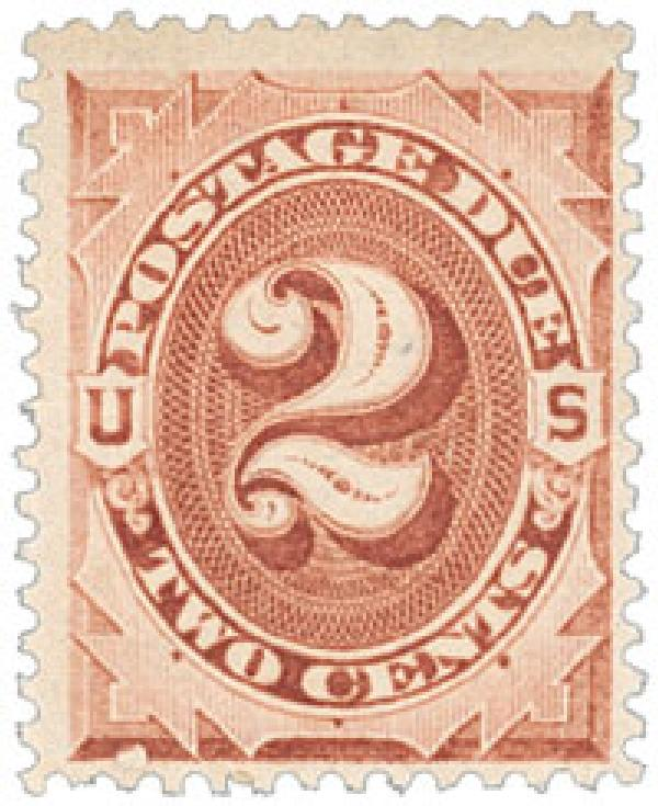 1884 2c Postage Due Stamp
