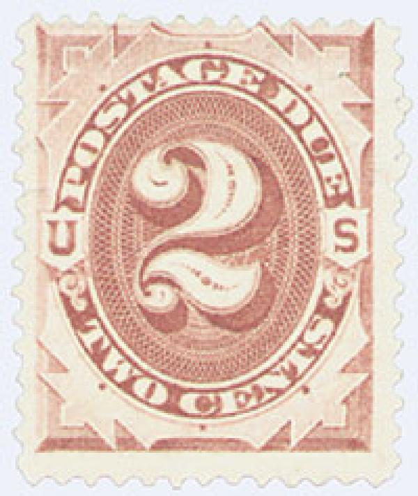 1879 2c Postage Due Stamp