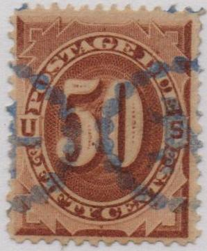 1884 50c Postage Due Stamp