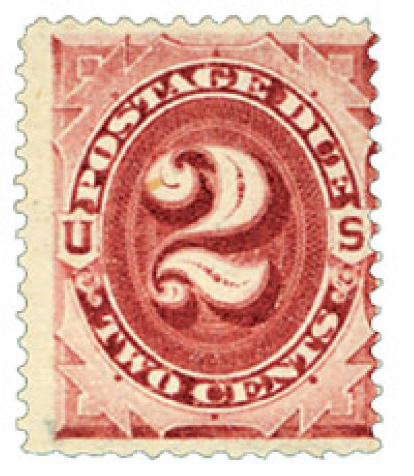 1891 2c Postage Due Stamp