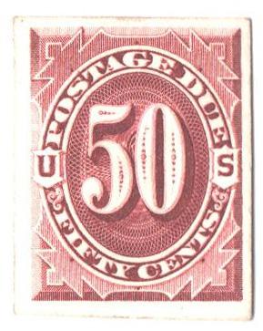 1891-93 50c bright claret