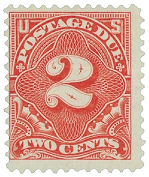 1894 2c Postage Due Stamp