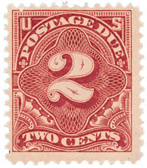 1895 2c Postage Due Stamp