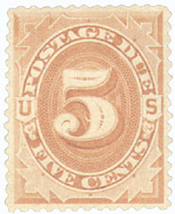 1879 5c Postage Due Stamp