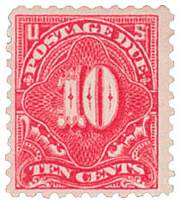 1914 10c Postage Due Stamp