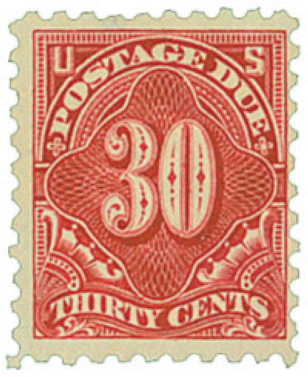 1914 30c Postage Due Stamp