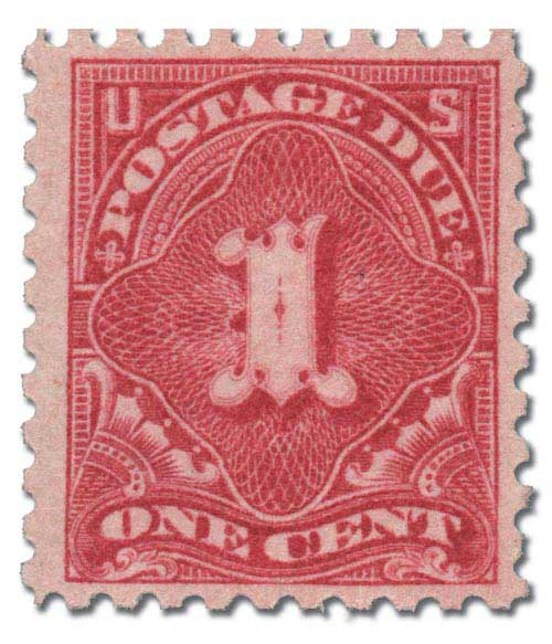 1916 1c Postage Due Stamp