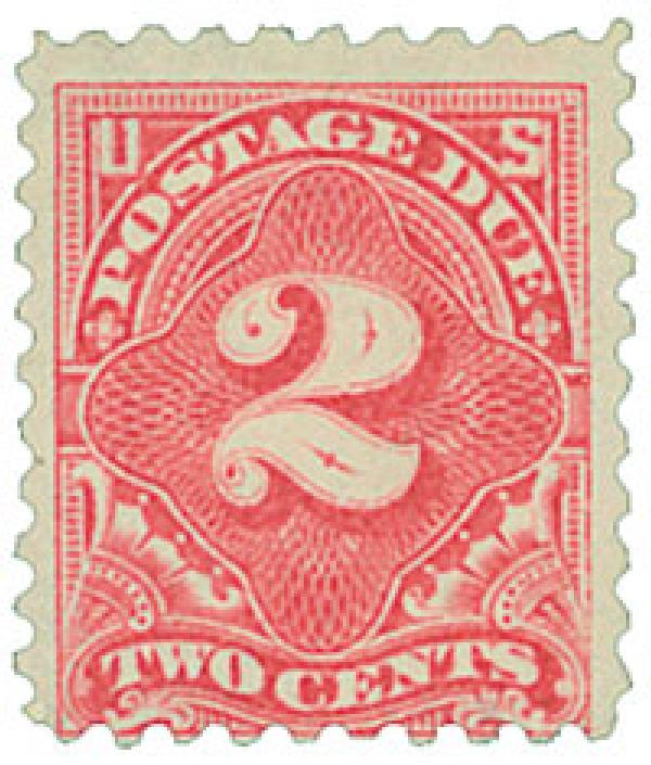 1916 2c Postage Due Stamp