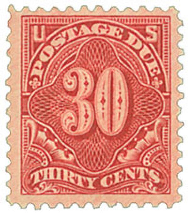 1917 30c Postage Due  Pf 11