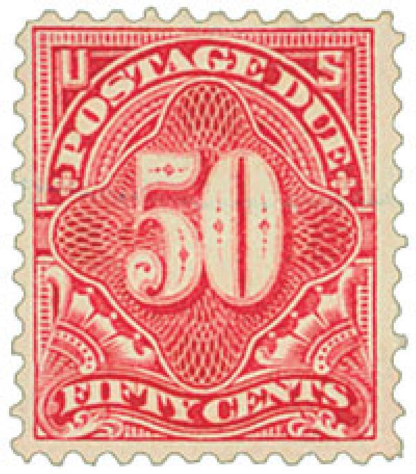 1917 50c Postage Due Pf 11