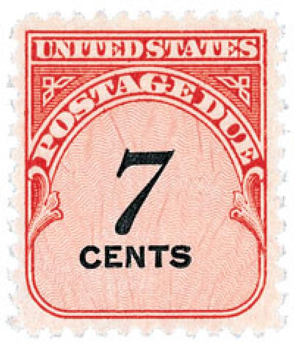 1959 7c Rotary Press