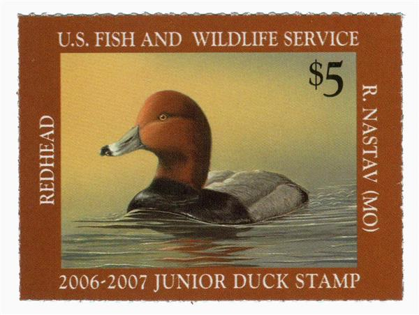 2006 $5 Redhead Junior Duck Stamp
