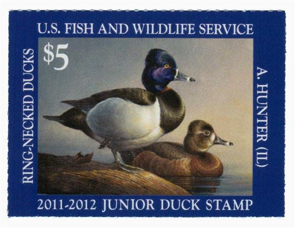 2011 $5 Ring-necked Duck Junior Duck St