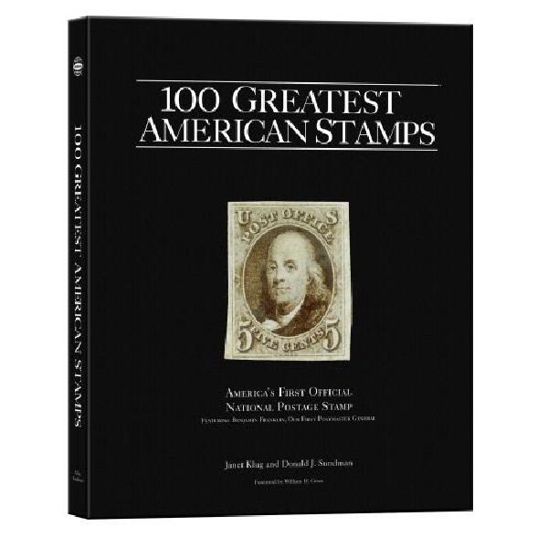 100 Greatest American Stamps Hardcover Book, Autographed by Don Sundman