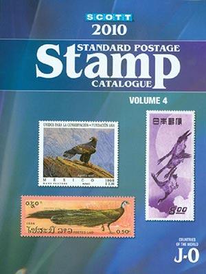 2010 Scott Catalog Vol IV