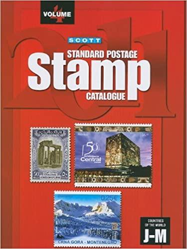2011 Scott Catalog Volume IV
