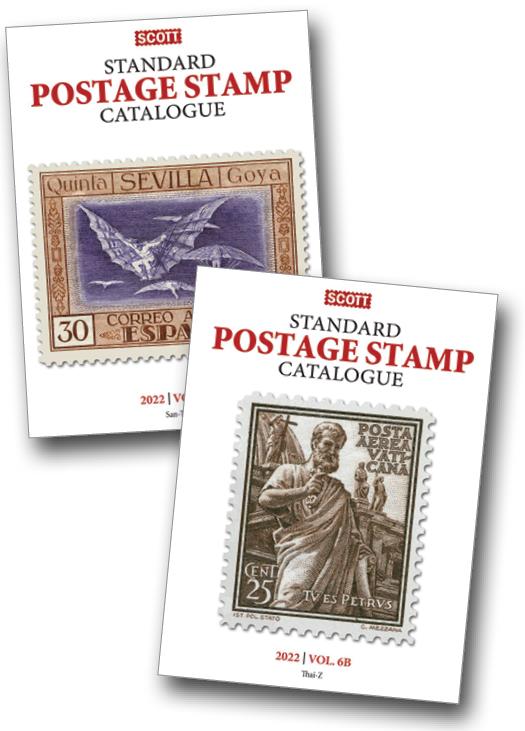 2022 Scott Catalog - Volume VI