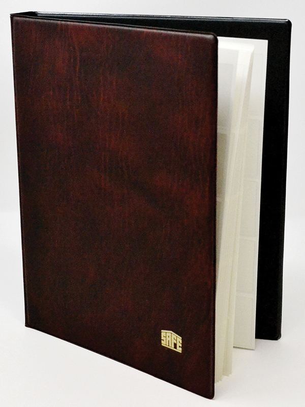 SAFE 7 1/4'x 8 3/4' Mini Stock Book, with 5 White 1-Sided Pages