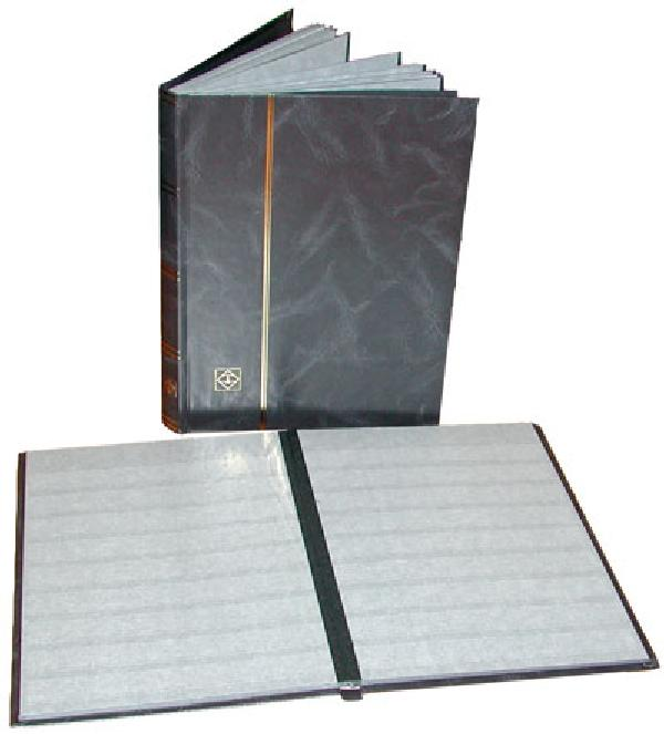 Lighthouse Stock Book, 32 Black Pages, 288 Strips