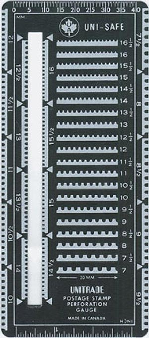 Unitrade Perforation Gauge