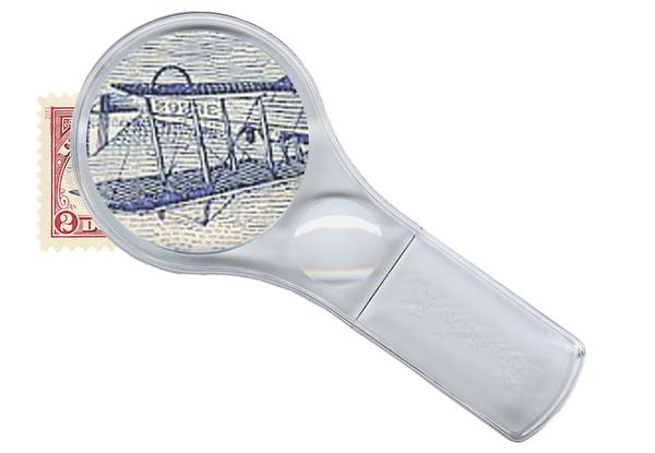 Whitman-HE Harris 3X Power Magnifier with 6X Spot Magnifier