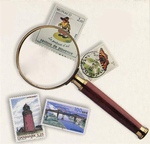 3X Magnifier with Gold Plated Frame and Rosewood Handle, 2 Inch